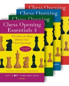 Chess Opening Essentials 1, 2, 3, & 4