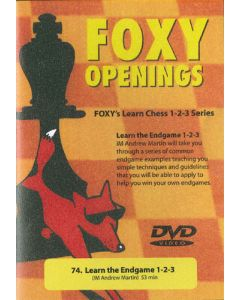Learn the Endgame: Foxy's Learn Chess 1-2-3 Series