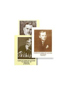 Complete Games of Alekhine Vol. 1, 2 & 3