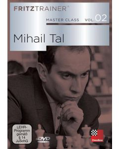 Master Class Vol. 2: Mikhail Tal: Collection of every Tal game, tables, backround knowledge + more