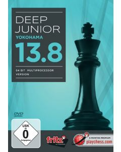 Deep Junior 13.8 - Yokohama: 64 bit Multiprocessor Version