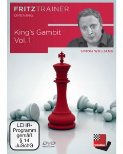 King's Gambit Vol. 1: Concentrates on the King's Gambit accepted with 3 Bc4.