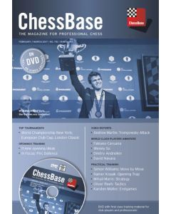 ChessBase Magazine 176: The Magazine for Professional Chess