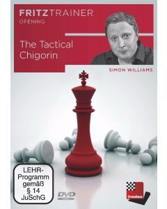 Simon Williams: The Tactical Chigorin: FritzTrainer Opening