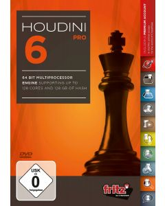 Houdini 6 - Pro: 64 Bit Multiprocessor version supporting up to 128 cores and 128