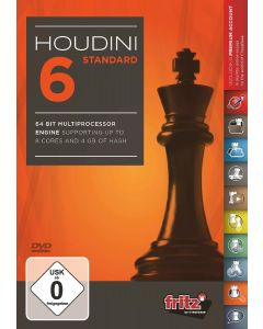 Houdini 6 - Standard: 64 Bit Multiprocessor version supporting up to 8 cores and 4 GB