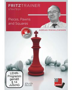 Adrian Mikhalchishin: Pieces, Pawns and Squares: Fritztrainer Strategy