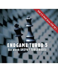 Endgame Turbo 5  — USB 3.0 flash drive (128 GB): Six Piece Syzygy Tablebases