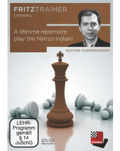 Rustam Kasimdzhanov:  A lifetime repertoire: play the Nimzo Indian!: Fritztrainer Tactics
