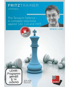 Erwin l'Ami: The Tarrasch Defence - A complete repertoire against 1.d4, 1.c4 and 1.Nf3: FritzTrainer Opening