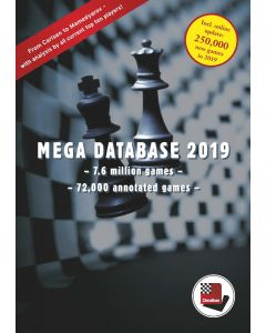 Upgrade Mega Database 2019 from Big 2018: More than 7.6 Million Games - 72.000 Annotated Games