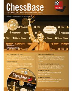 ChessBase Magazine 187: The Magazine for Professional Chess