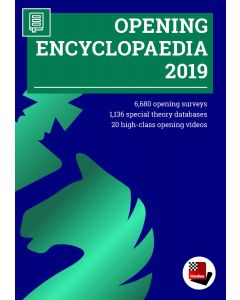 Update Opening Encyclopaedia 2019 from 2018: Including 6680 Opening Surveys & 1136 Special Theory Databases