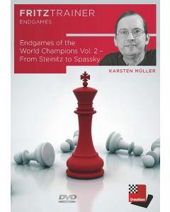 Karsten Müller: Endgames of the World Champions Vol. 2 - From Steinitz to Spassky: FritzTrainer Endgames