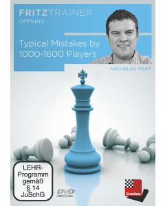 Nicholas Pert: Typical Mistakes by 1000-1600 Players: FritzTrainer Opening