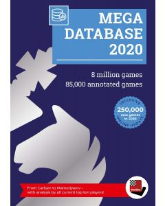 Mega Database 2020: More than 8 Million Games and 85.000 Annotated Games