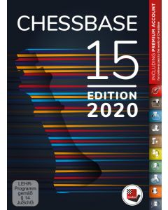 ChessBase 15 - Premium Package (Edition 2020): With Lots of New Features