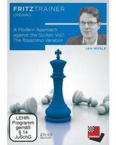 Jan Werle: A Modern Approach against the Sicilian  Vol.1: The Rossolimo Variation: FritzTrainer Opening