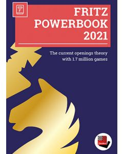 Fritz Powerbook 2021: The Current Openings Theory with 1,7 Million Games