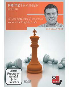 Nicholas Pert: A Complete Black Repertoire versus the English, 1...e5