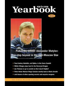 Yearbook 92 hardcover: The Chess Player's Guide to Opening News