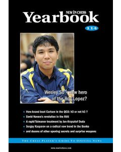 Yearbook 114 hardcover: The Chess Player's Guide to Opening News