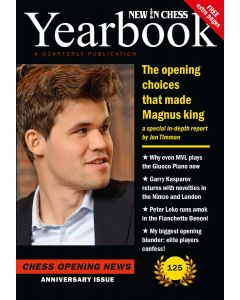 Yearbook 125 hardcover: Chess Opening News