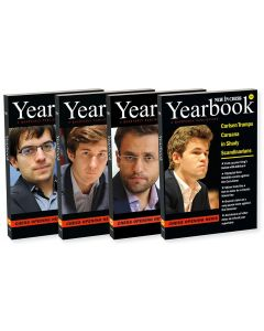 2016 - Yearbooks 118-121 Hardcover: SAVE 50% on the Complete Overview of Opening Theory in 2016