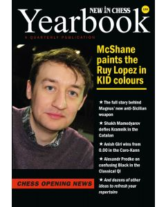 Yearbook 128 hardcover: McShane paints the Ruy Lopez in KID Colours