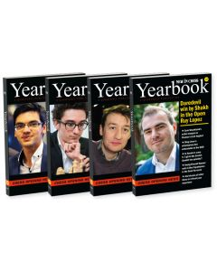 2018 - Yearbooks 126-129 Hardcover: SAVE 50% on the Complete Overview of Opening Theory in 2018