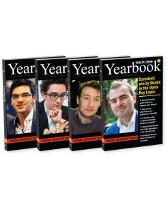 2018 - Yearbooks 126-129: SAVE 50% on the Complete Overview of Opening Theory in 2018