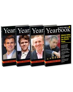 2019 - Yearbooks 130-133 Hardcover: SAVE 50% on the Complete Overview of Opening Theory in 2019