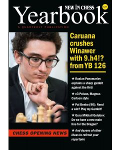 Yearbook 127: Caruana crushes Winawer with 9.h4!? from YB 126