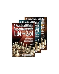 A Practical White Rep. with 1.d4 and 2.c: Save 10% on three volumes combined