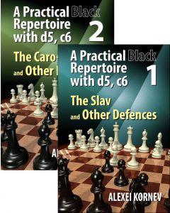 A Practical Black Repertoire with d5, c6 Vol 1&2