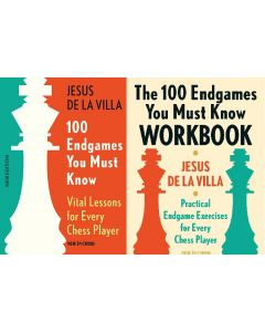 100 Endgames You Must Know Book + Workbook: Save 15%