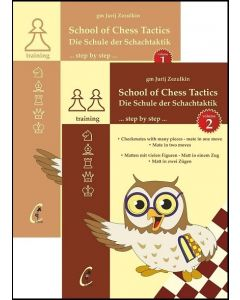 School of Chess Tactics - Volume 1 & 2: Save 10% on Two Volumes Combined