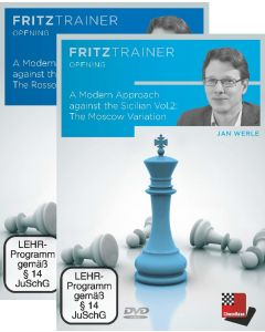 Jan Werle: A Modern Approach against the Sicilian  Vol.1 + 2: Save 10% on Two Volumes Combined