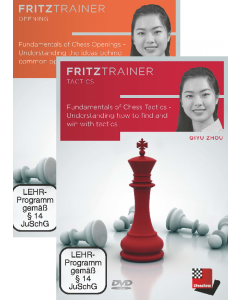 Qiyu Zhou:  Fundamentals of Chess : Openings + Tactics: Save 10% on Two Volumes Combined