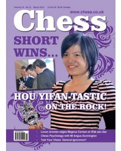 Chess Magazine - March 2012: Hou Yifan-tastic on the Rock!