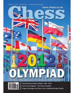 Chess Magazine - October 2012: 2012 Olympiad