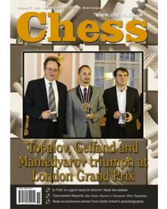Chess Magazine - November 2012: Topalov, Gelfand and Mamedyarov triumph at London Grand Prix