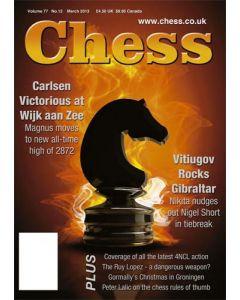 Chess Magazine - March 2013: Magic Magnus