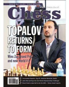 Chess Magazine - June 2013: Topalov returns to form