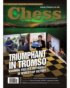 Chess Magazine - October 2013: Triumphant in Tromso