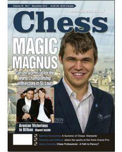 Chess Magazine - November 2013: Magic Magnus