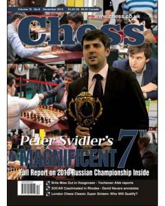 Chess Magazine - December 2013: Full report on 2013 Russian Championship!