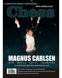 Chess Magazine - January 2014: Magnus Carlsen New World Chess Champion