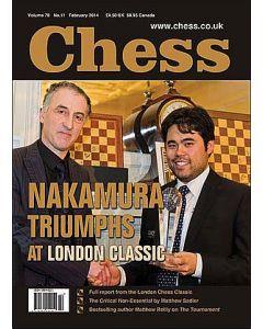 Chess Magazine - February 2014: Nakamura Triumphs at London Classic