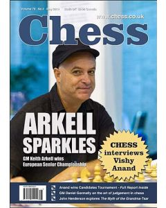 Chess Magazine - May 2014: GM Keith Arkell Wins European Senior Championship